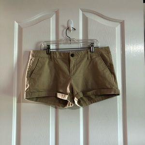 Khaki pair of shorts junior size 11 SO brand